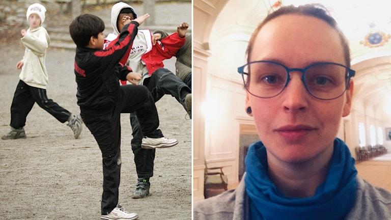 Susanna Silow är lärare och jämställdhetsombud på Järvenskolan Tallås i Katrineholm