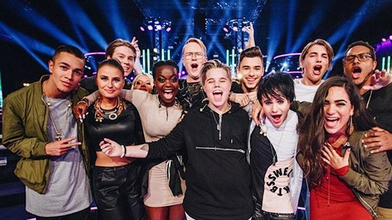 12 finalister i Idol 2016