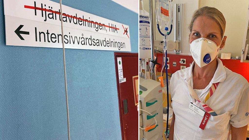 Karin Frisell är medicinskt ledningsansvarig för IVA på Mälarsjukhuset i Eskilstuna.
