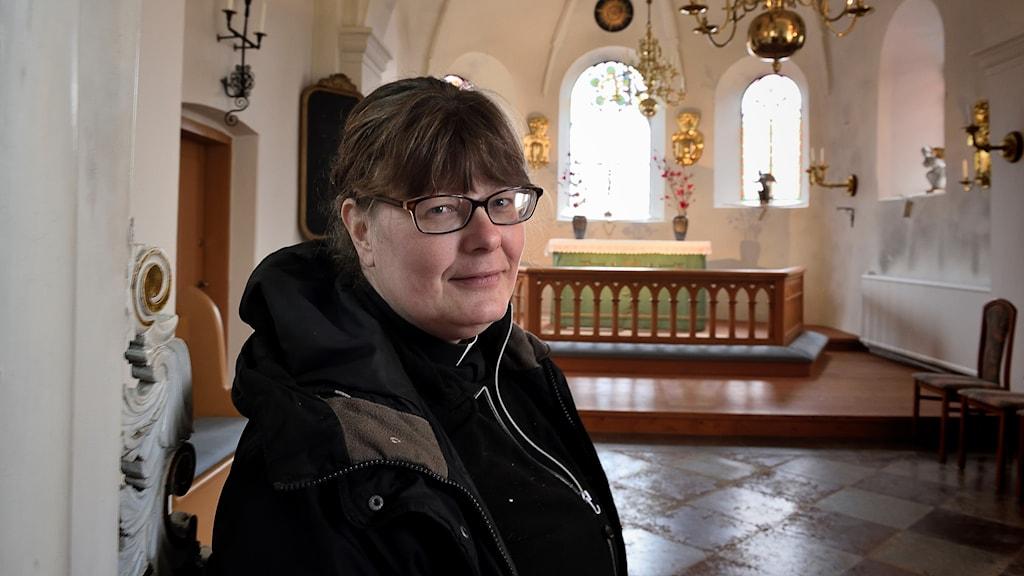 Ellinor Svensson, kyrkoherde Rånö församling