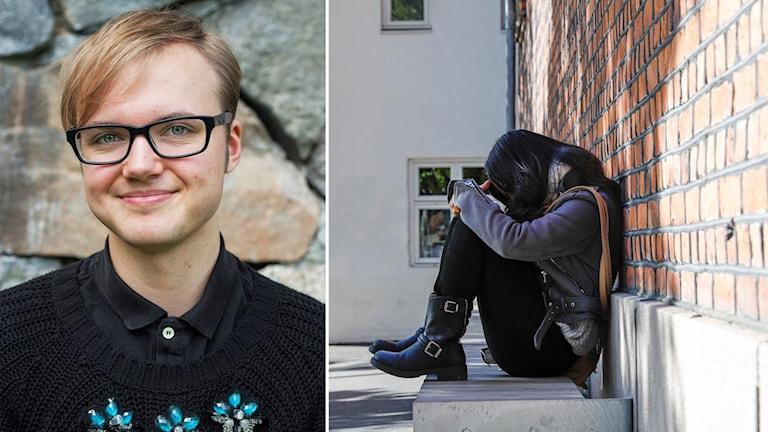 Frank Berglund, förbundsordförande för RFSL Ungdom.