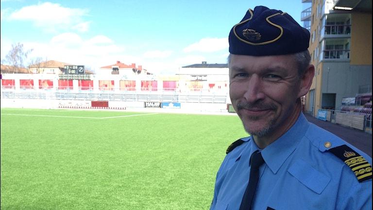 Lars Hammarsjö, stabschef för den allsvenska fotbollen i Eskilstuna.