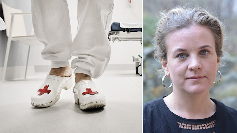 Johanna Sandwall är krisberedskapschef på Socialstyrelsen.