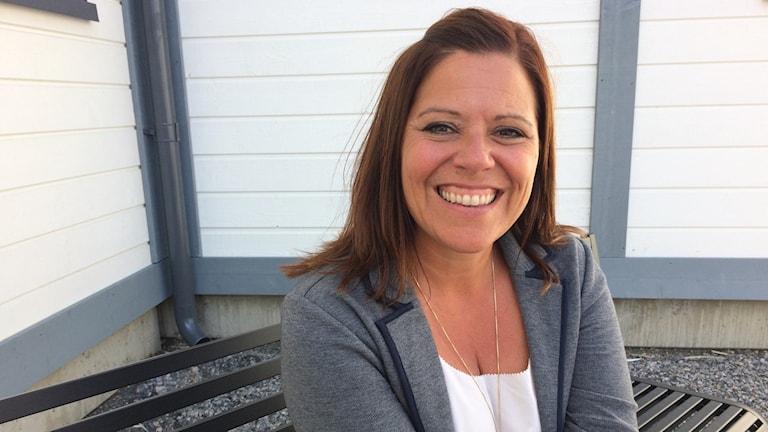 Lisa Edholm, rektor Fristadsskolan