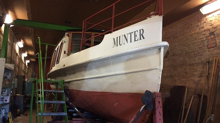 Ångslupen Munter.