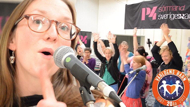 P4 Sörmlands redaktion sjunger