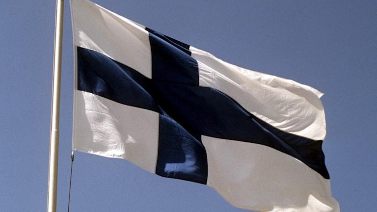 finska flagga