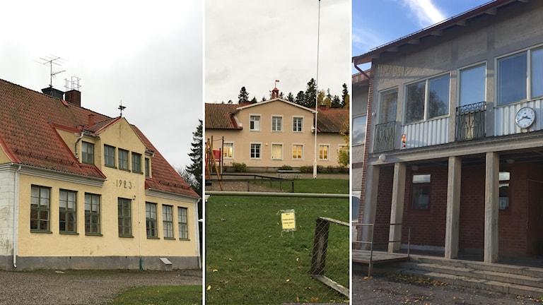 Härad skola Fogdö Skola Stallarholmens skola