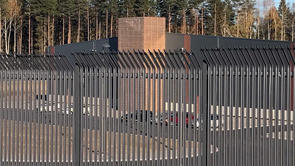 Amazons serverhall utanför Eskilstuna