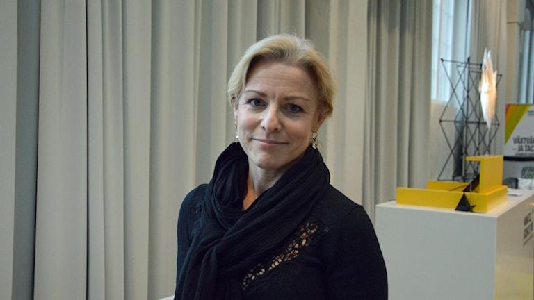 porträtt av Kristina Bengtsson är tillförordnad chef på Arbetsförmedlingen i norra Sörmland