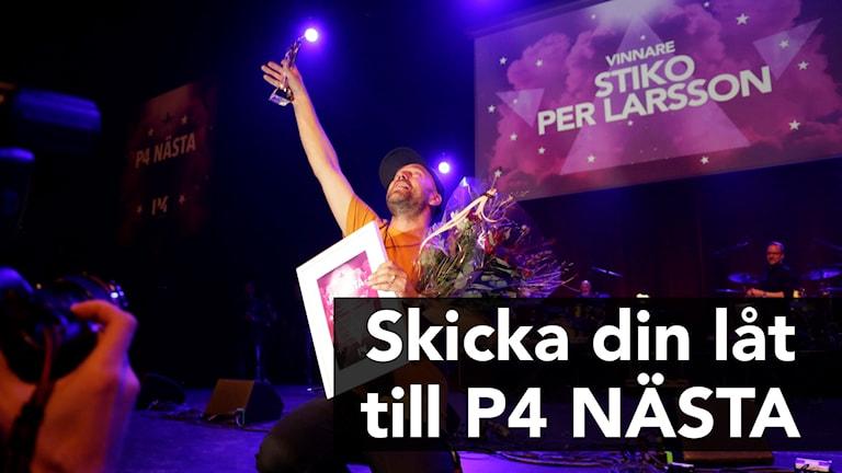 Stiko Per Larsson vann P4 Nästa 2017.