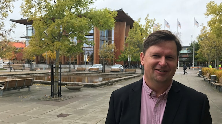 Joakim Johansson- lektor i statsvetenskap vid MDH