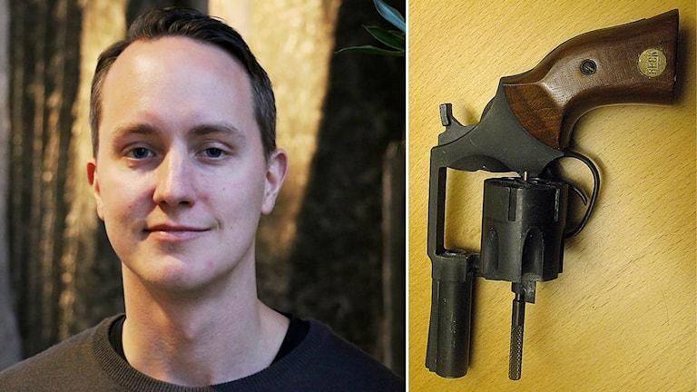 Joakim Norenhag är Polisens projektledare för vapenamnestin.