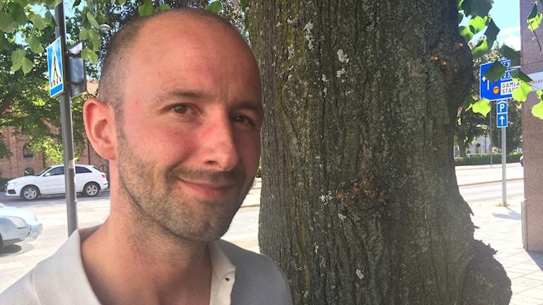 Daniel Bodén, etnolog på Arkiv Sörmland.