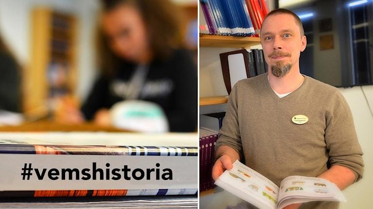 Fredrik Andersson, 7-9 lärare Slottsskolan Vingåker