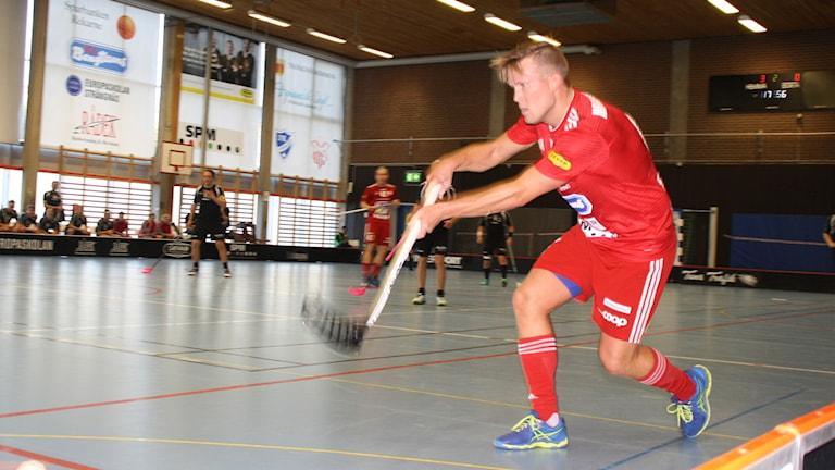 Pierre Hellström i Strängnäs Innebandy