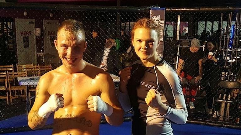 MMA i Nykping.