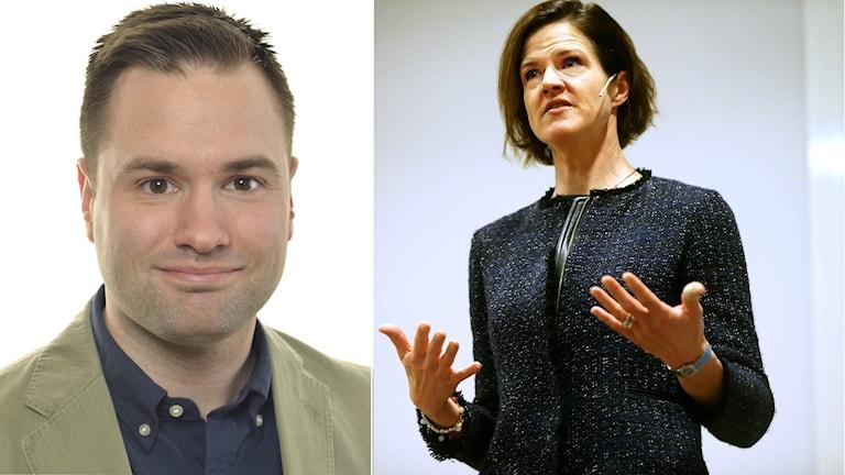 Erik Bengtzboe och Anna Kinberg Batra