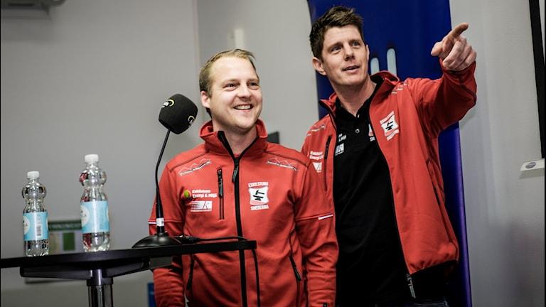 Stefan Jarl och Jerker Eriksson.