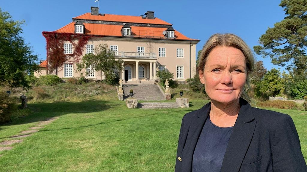 Petra Fasth rektor på Stensunds folkhögskola.