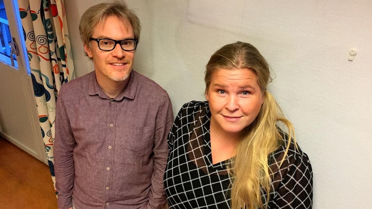 Jörgen Leidebrant och Linda Ettehag Kviby.