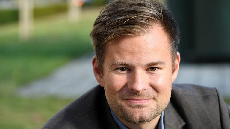 Kristján Andrésson, handbollslandslagets nye förbundskapten. Foto: Fredrik Sandberg/TT.