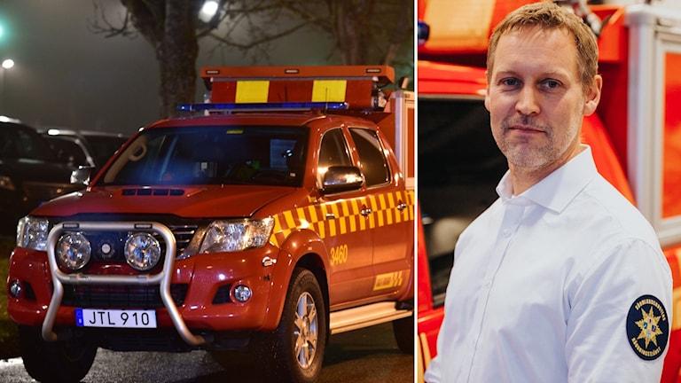 Peter Kangedal, funktionschef för strategiska insatser Sörmlandskustens Räddningstjänst.