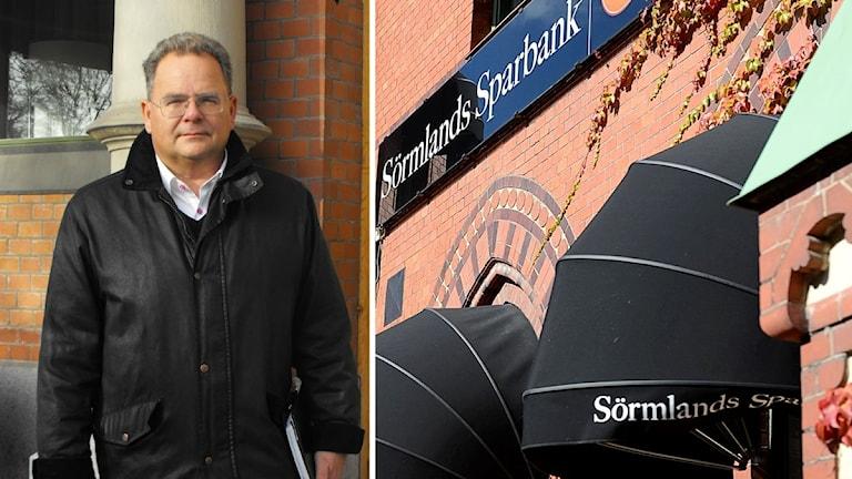 Joacim Lindgren är före detta VD för Sörmlands Sparbank.