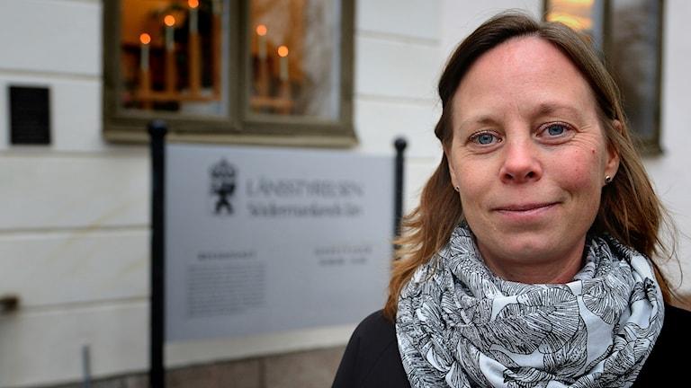 Maria Gustavsson, miljömålssamordnare länsstyrelsen Sörmland