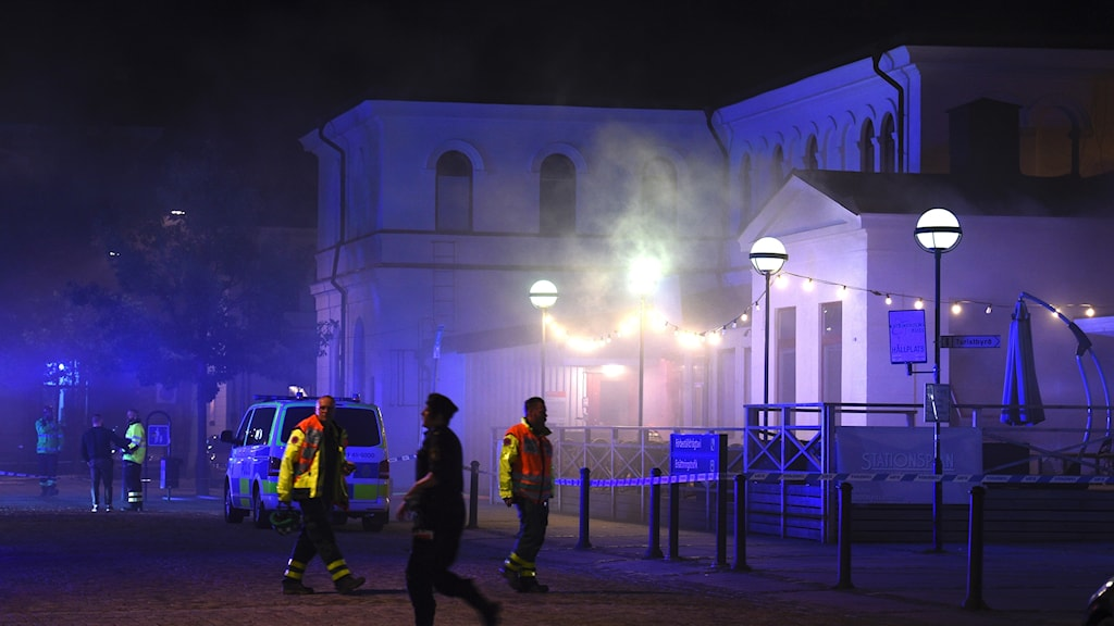 Brand i Katrineholm.
