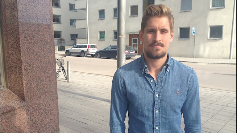 Daniel Björnquist, ytterback i AFC Eskilstuna.