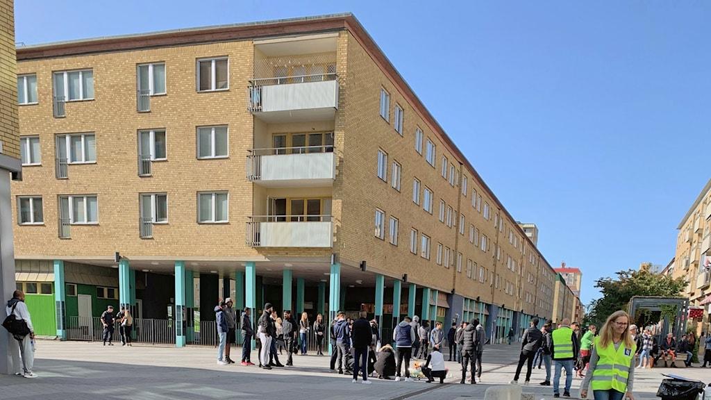 Nyforsgatan i Eskilstuna den 18 september 2020.