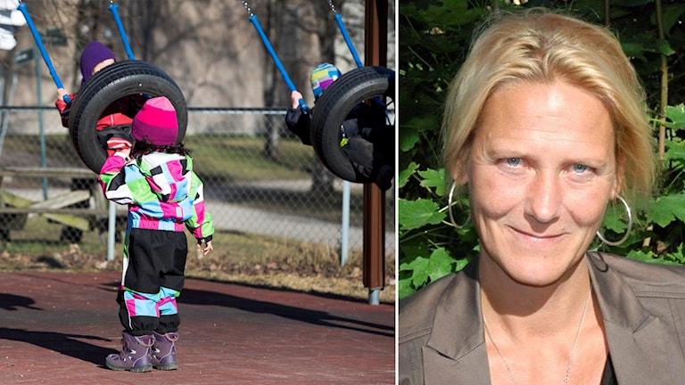 Cecilia Högberg, produktionschef för kultur-, fritids-, teknik- och servicekontoret i Trosa.
