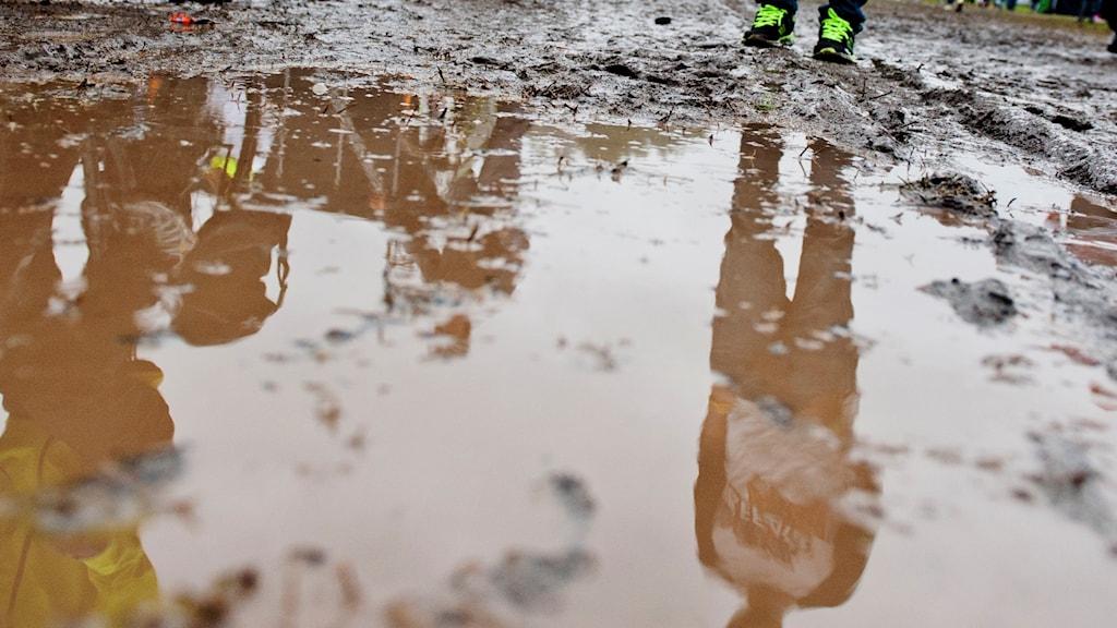 Smedernas match mot Dackarna blev uppskjuten på grund av regn.