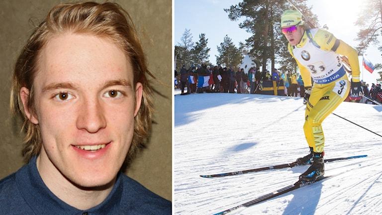 Skidskytten Sebastian Samuelsson.