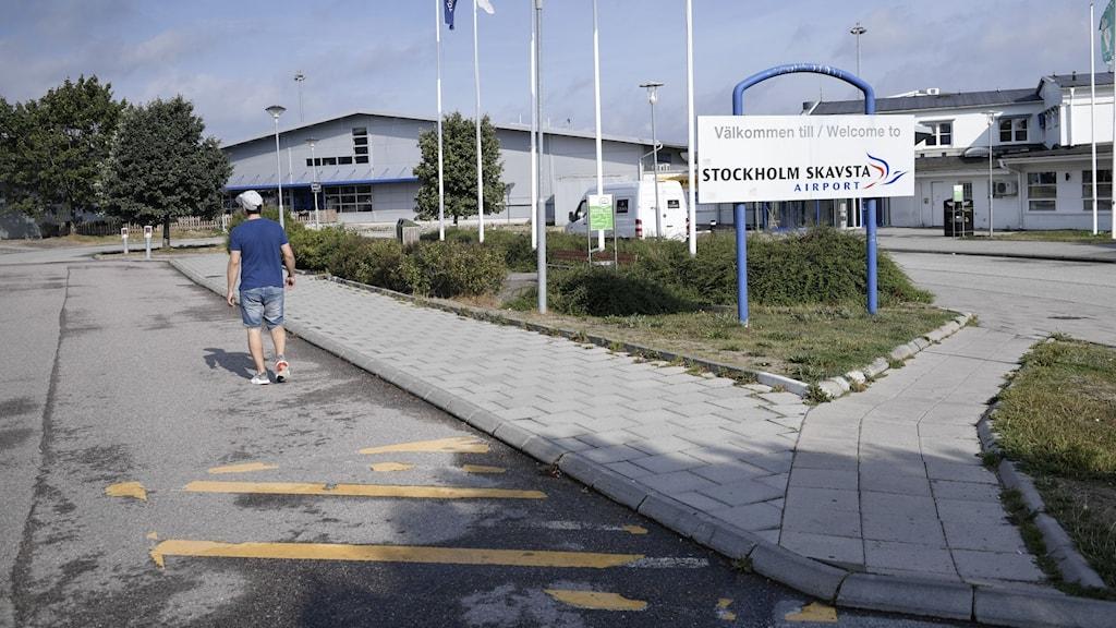 Skavsta, entre, Nyköping.