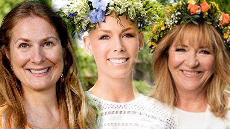 Annika Lantz, Gunhild Stordalen och Malou von Sivers