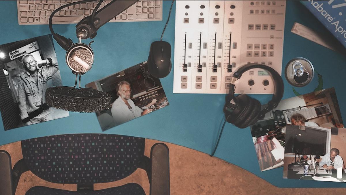 På lokalradion i Göteborg finns en kaxig oh besvärlig nyhetsredaktion.