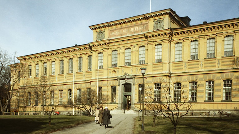 Kungliga biblioteket, Stockholm. Foto: SVT