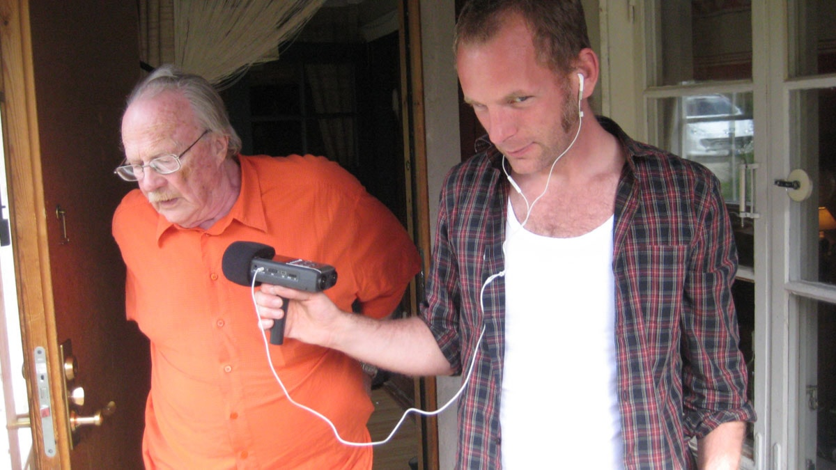 Bosse Sjökvist intervjuar Jan Myrdal.