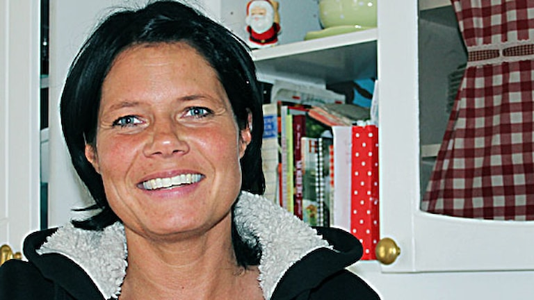 Lotta Lestander. Foto: Eva Elke/ Sveriges Radio.