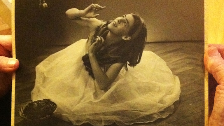 Ingrid som balettdansör