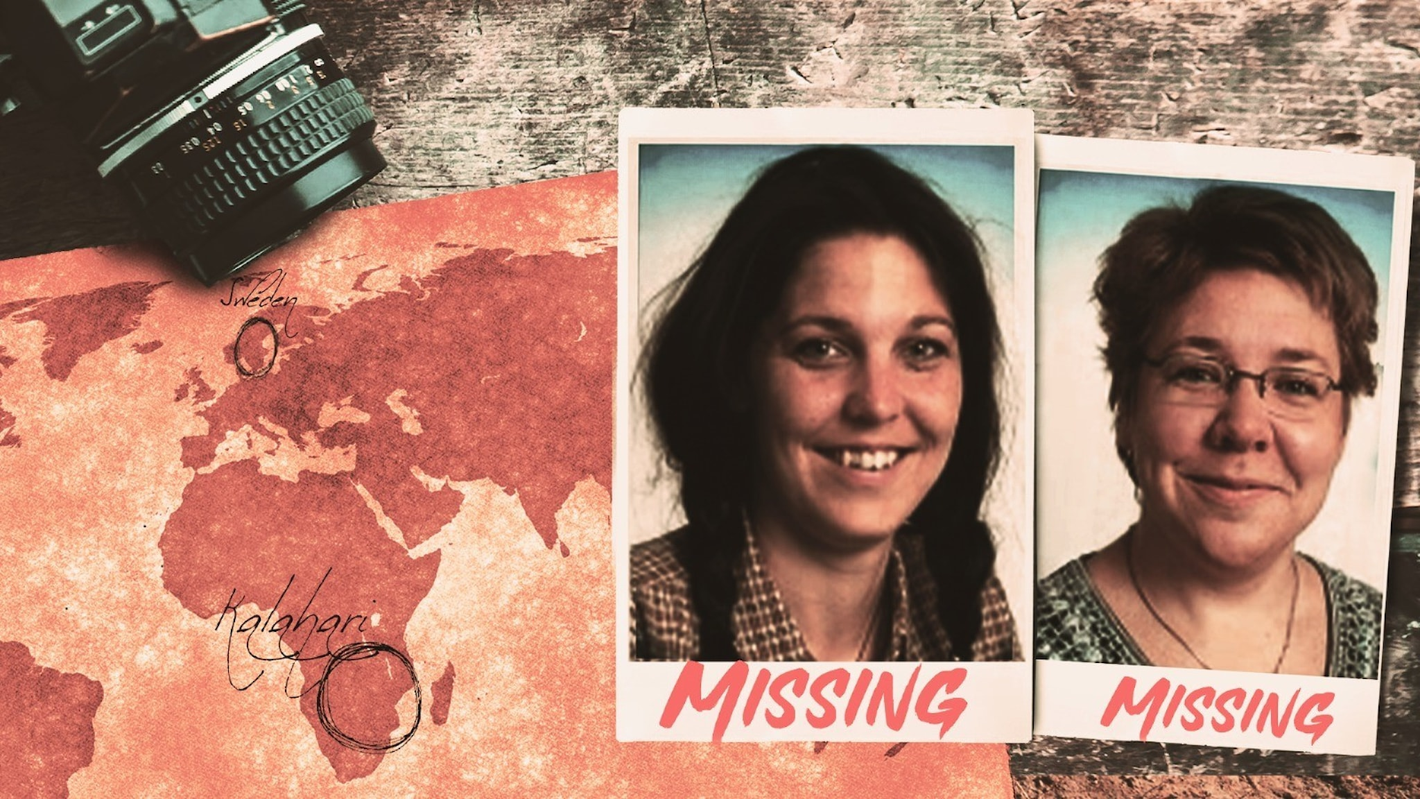 Två SVT-medarbetare försvann spårlöst i Kalahariöknen i Botswana.