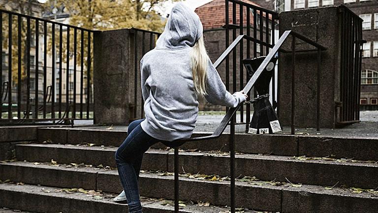 Kroppen minns. Bilden är arrangerad. Foto: Mattias Ahlm/Sverigesradio
