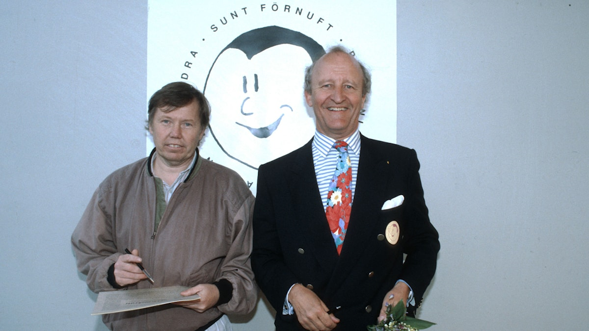 Bert Karlsson och Ian Wachtmeister. Foto: Bengt O Nordin