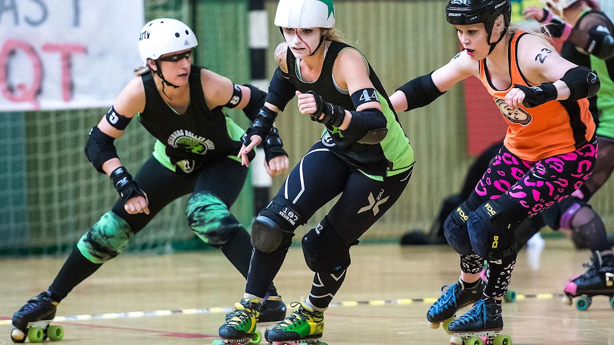 Roller Derby. Foto: Morgan Borén/Morgankort