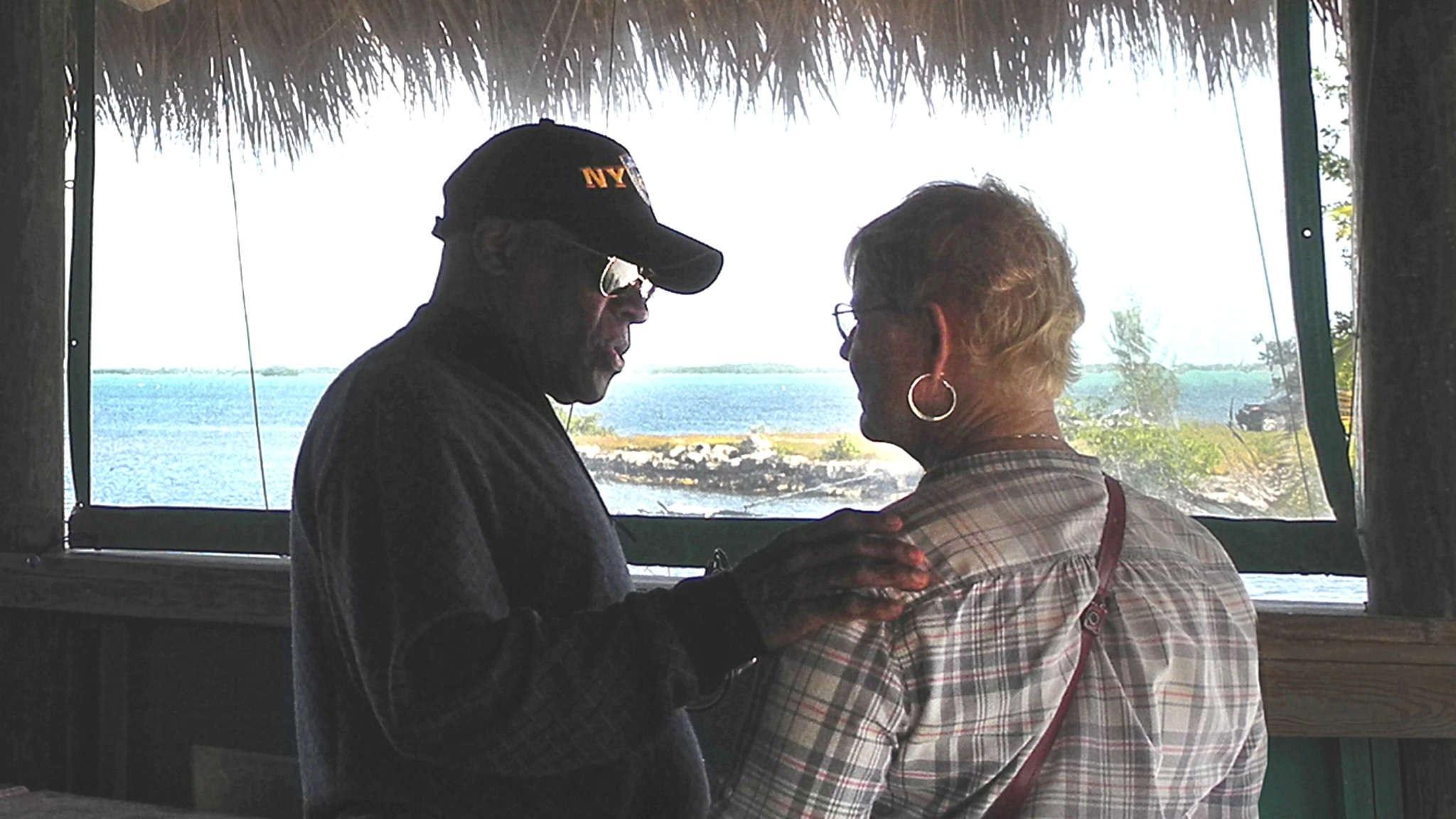 Elisabeth & Eduardo i Key West. Foto: Kristina Gellerstedt.