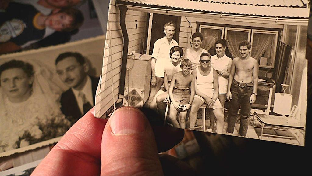 Förintelsen i Familjen. Familjefotografier. Foto: Privat.