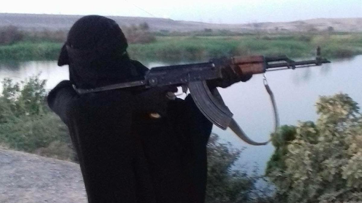 Utflykt i IS kontrollerat område i Syrien. Foto: Privat.