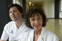 Underläkare Jonas Axelsson och överläkare Astrid Seeberger. Foto Snezana Vucetic Bohm.